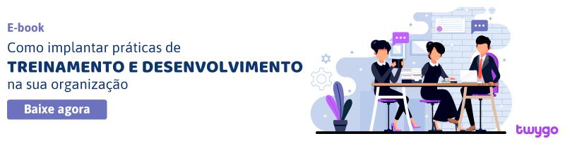 E-book Como implantar práticas de treinamento e desenvolvimento na sua organização